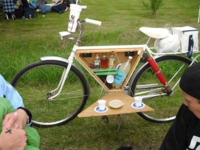 Bike Bar -triangle space use